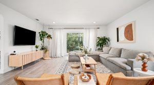 SOLD OVER ASKING! Mid-century modern, bohemian, and Scandinavian vibe